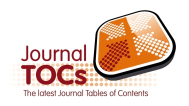 JournalTOCs Table of Contents Searching Engine for Journals